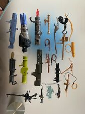 different sizes GI Joe and other weapons