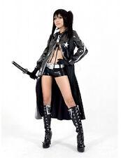 NEW Vocaloid 2 Black Rock Shooter Miku Cosplay Costume BGVIF #5477