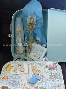 Beatrix Potter Peter Rabbit Ladies Umbrella, Scarf, Purse or Gift Set in Case