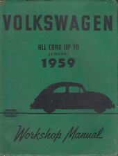 VW Beetle 1100 & 1200 incl SPLIT SCREEN & Ovale 1946 - 1959 Manuale di riparazione