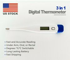 Lcd Digital Thermometer with Digital Display for Babies Kids and Adults