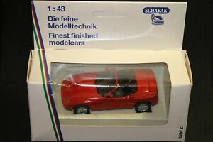 ⭐BMW Z1 Roadster Red [Made in Germany] 1:43 Schabak #1160