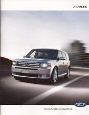 2012 12 Ford  Flex original sales brochure