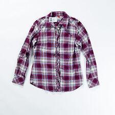 Karierte Esprit Langarm Damenblusen, - tops & -shirts