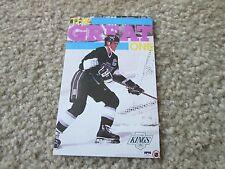 Starline Poster NHL Hockey 3 1/4x5 Wayne Gretzky Rare
