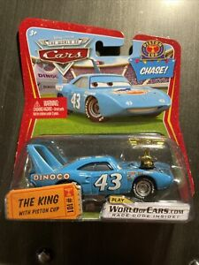 Disney Pixar Cars World of Cars The King with Piston Cup #101 Chase Mattel 2009
