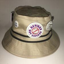 Retired Bucket Cap Hat Laid Back Fishing