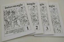 Intermagic, ein magisches Journal von Rudolf Braunmüller, 19. Jhg, komplett