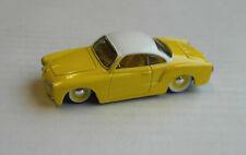 Maisto VW Volkswagen Karmann Ghia Custom gelb/weiß Oldtimer Auto yellow/white