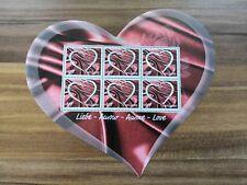 Schweiz, Kleinbogen / mini sheet Liebe-Amour-Amore-Love, Postfrisch / mint