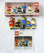 LEGO 200 Family & Instructions - Complete Vintage 70s Building Set with People