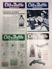 Vintage Old Bottle Magazine Jan - April 1976 Lot of 4 - FREE SHIP - Insulators