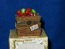 Candice's Apple Crate Boyds Uncle Bean's Treasure Box - 392105 - Mib