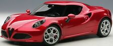 Autoart 70186 - 1/18 Alfa Romeo 4C (2013) - Composite Model / 3 Openings - Red