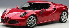Autoart 70186 - 1/18 ALFA ROMEO 4c (2013) - Composite Model/3 openings-Red