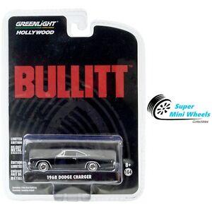 Greenlight 1:64 Hollywood - Bullitt (1968) - 1968 Dodge Charger R/T #44741