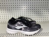 Brooks Launch 6 Womens Athletic Running Shoes Size 6 Black Gray White
