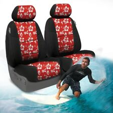 Coverking Hawaiian Print Custom Tailored Seat Covers for Ford Mustang Full Set