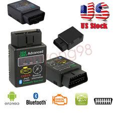 ELM327 Bluetooth V2.0 Auto Car ODB2 Advanced Diagnostic Scanner Tool Code Reader