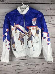Kellogg's Basketball Olympics 1992 Dream Team USA Light Jacket Windbreaker Youth