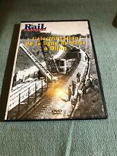 Dvd Rail passion vidéo - train - Electrification ligne Paris Dijon -   D1