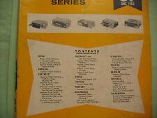 SAMS PHOTO FACT- AUTO RADIO MANUAL(AR37) - FIRST EDITION PRINTING-JUNE-1966