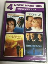 Eternal Sunshine/The Story of Us/What Dreams May Come/Meet Joe Black (Dvd,2016)