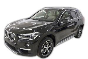 BMW X1 F48 5 portes 2015-prés Deflecteurs d'air Déflecteurs de vent 4pcs