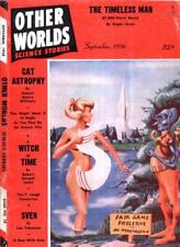 Other Worlds Science Fiction 43 Issues On USB Flash Drive Free Shipping