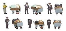 KATO 24-262 N Scale Gauge Diorama People Lunch vendors 12 pieces Train Decor