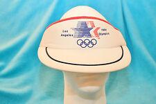 1984 LOS ANGELES OLYMPICS SWEATBAND ADJUSTABLE VISOR - RED, WHITE, BLUE