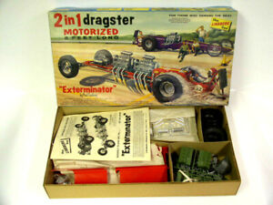 2 in 1 Dragster Motorized Exterminator by Lindberg Line, NO.695M:1098 2 ft. Long