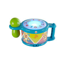Laugh & Learn Tap And Teach Learning Drum, Baby-Activated With Lights And Music