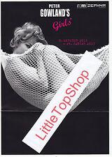 Peter Gowland's Girls Kleines Handbuch und Flyer zur Ausstellung Top erhalten