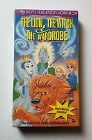 The Lion, the Witch, and the Wardrobe VHS 1993  Republic 1993 Cult Animation HTF