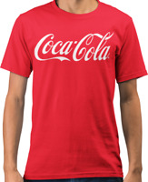 Coca Cola Logo Drink Coke Official T-Shirt