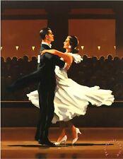Jack Vettriano greeting card - Take this Waltz
