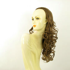 DT Half wig HairPiece extensions light brown golden 22.8  REF :16/12