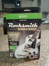 Rocksmith 2014 Edition Remastered - Xbox One - New - Real Tone Cable Included