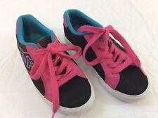 Dc Shoes Size 6 Girls Black Pink Blue Tennis Skateboard Shoes