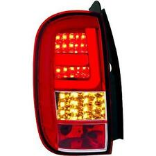 Par de faros luces traseras TUNING tubelight DACIA DUSTER 10 rossi cromados