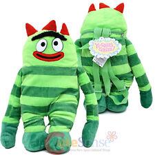 "Yo Gabba Gabba Brobee  Plush Backpack Plush Doll Costume Bag -20"""