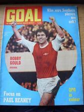 Objectif de 11/01/1969 magazine: Nº 23-Bobby Gould d'Arsenal (sur le couvercle)