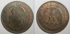 2 centimes 1862 K - NAPOLEON III - SECOND EMPIRE - SUP -02