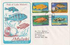 (50201) Malawi FDC Fish of Lake Malawi 1977