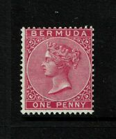 Bermuda SG# 24, Mint Hinged, Hinge Remnant (appears to be carmine-rose) - S5143