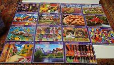"""15 BRAND NEW CRA-Z-ART PUZZLEBUG 300 Piece Jigsaw Puzzles 18.25"""" x 11"""" FREE SHIP"""