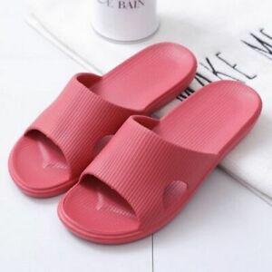 Slippers Women Summer Thick Bottom Indoor Home Bathroom Non-slip Soft Tide Wear