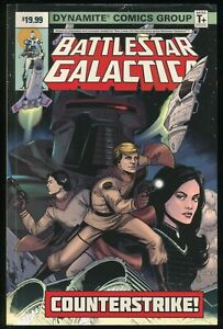 Battlestar Galactica Counterstrike! Trade Paperback TPB Classic Cylon Raider 1st