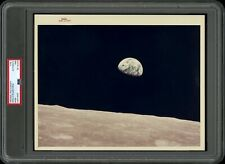 *Earthrise* Apollo 8 1968 NASA Type 1 Original Photo Red Letter A Kodak PSA/DNA